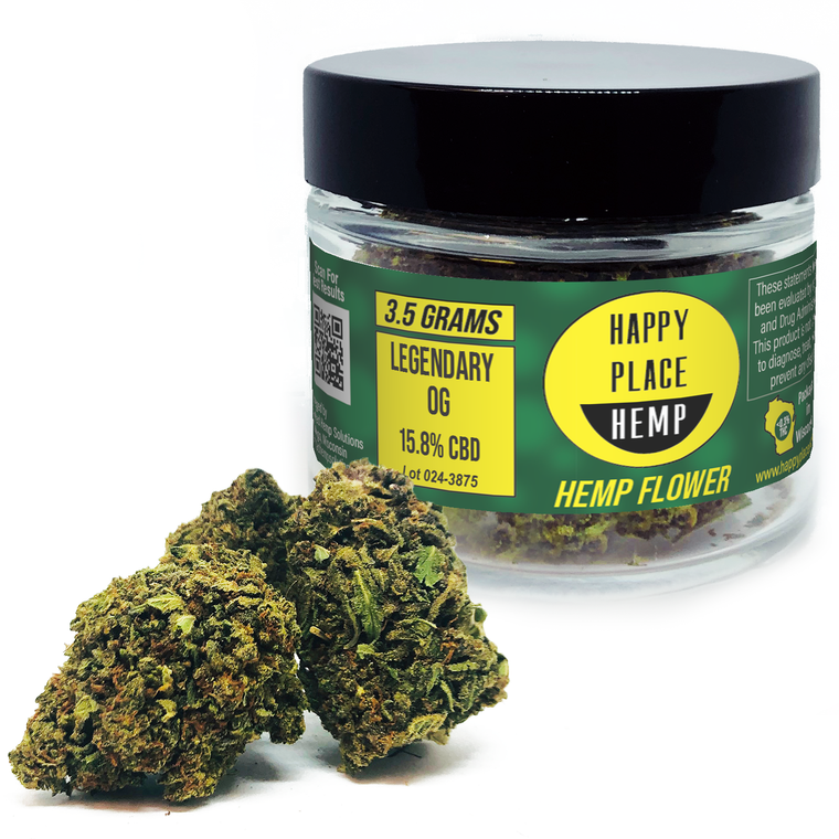 Happy Place Hemp - Legendary OG - 15.8%