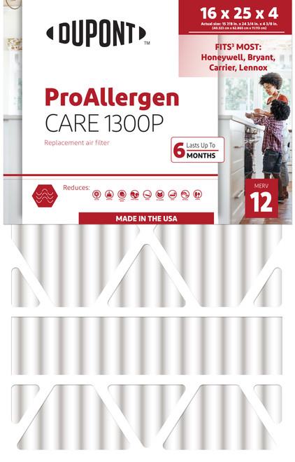 Dupont 16x25x4.38 ProAllergen MERV 12
