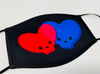 Skull Hearts Face Mask