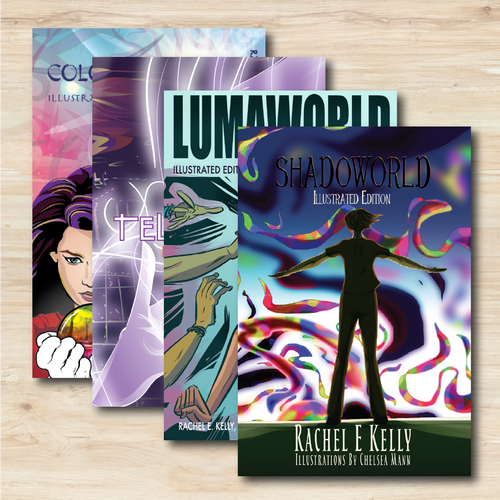 Colorworld Illustrated Series 1-4 Combo Pack