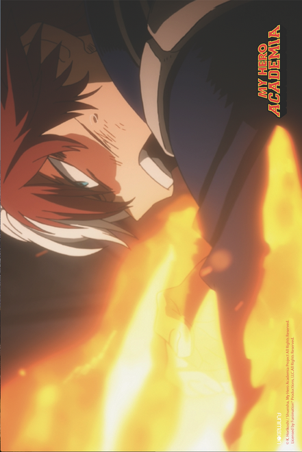Todoroki Fire Yell