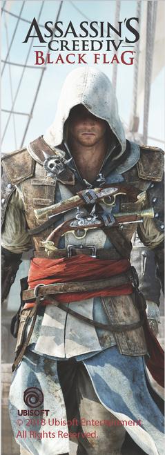 AC Edward Pirates Bookmark