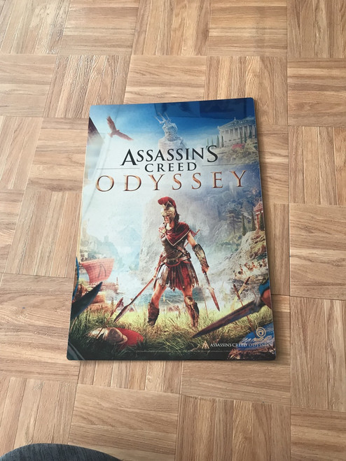 Brand new metal print based on the Officially Licensed art from Assassins Creed Odyssey by Ubisoft.
