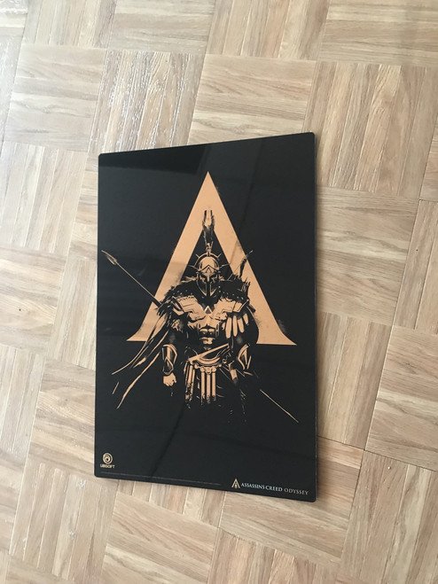 Metal Print based on the Officially Licensed art from Ubisoft's new Assassins Creed Odyssey.