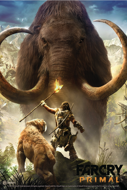 The Farcry Primal art used for the Metal Print