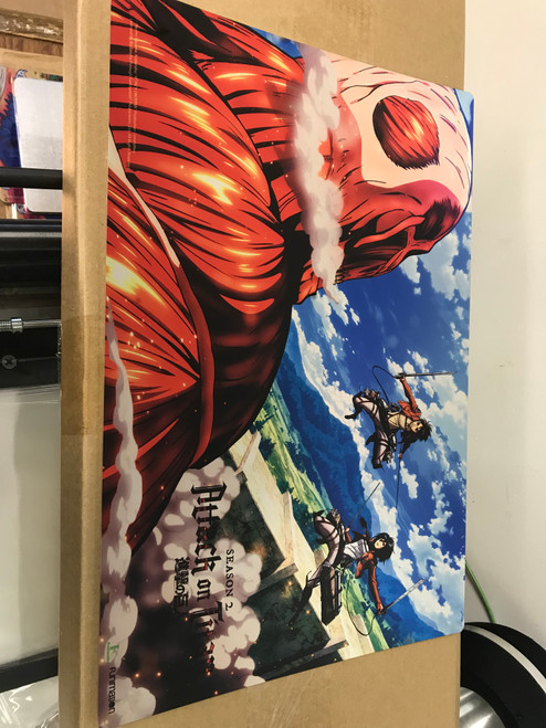 AOT - Eren & Mikasa VS. Colossal Titan