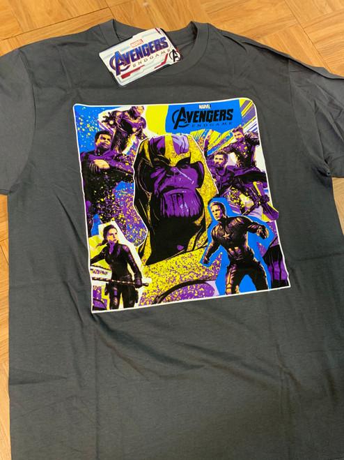 Avengers Endgame on Gray (Avengers)  - Shirt