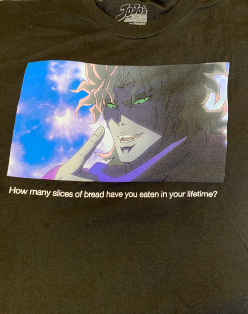 JoJo's Bizarre Adventure - Dio Bread Slices