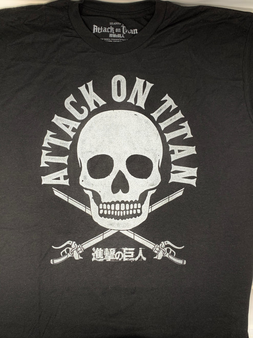 Attack on Titan Cross Bones Shirt