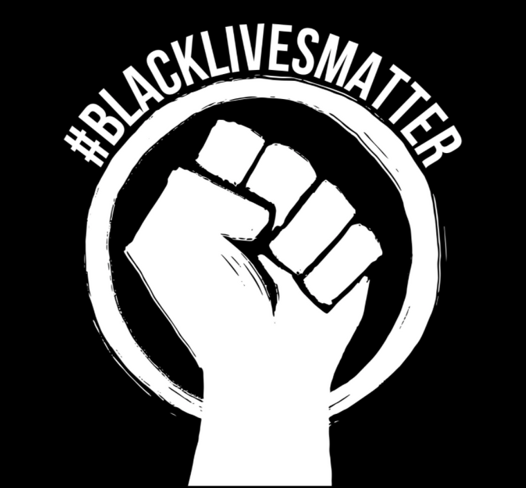 #BlackLivesMatter Sticker