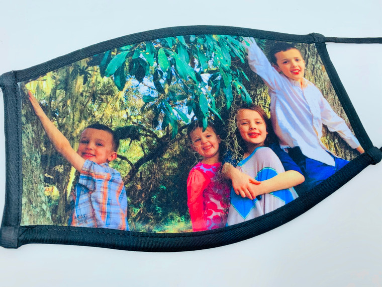 Order a family photo mask and email your photo to moderator@colorworldbooks.com!