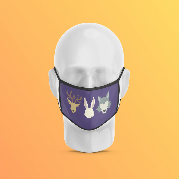 Forest Trio Forest Collection Mask
