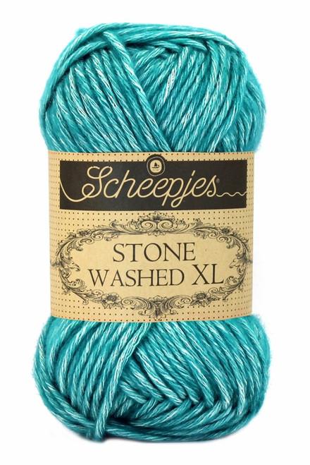 Scheepjes Stone Washed XL-Green Agate 855