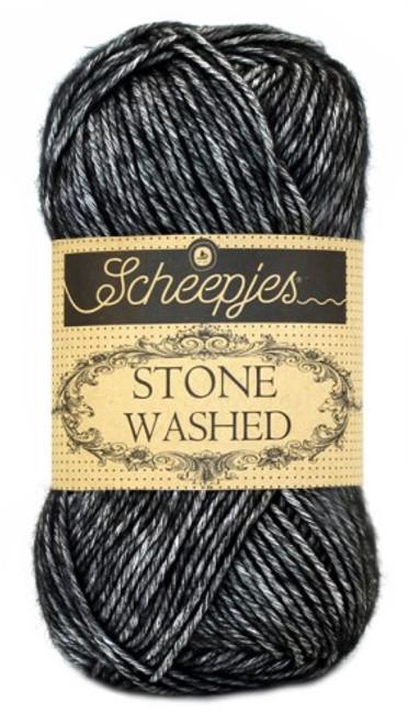 Scheepjes Stone Washed-Black Onyx 803