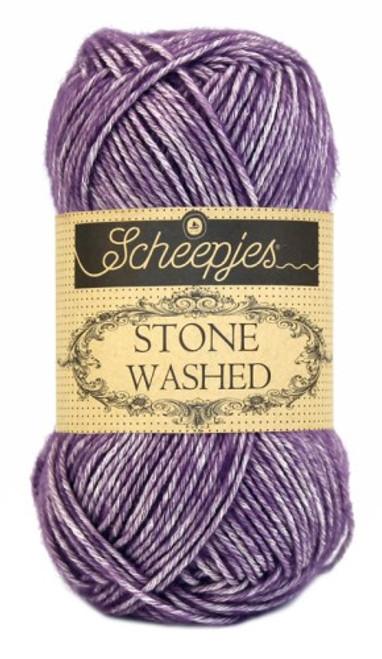 Scheepjes Stone Washed-Deep Amestyst 811