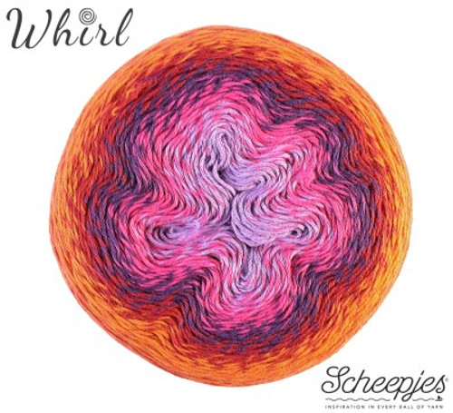 Scheepjes Whirl-Red Velvet Sunrise