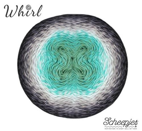 Scheepjes Whirl- Minty Black Velvet - Aurora Collection