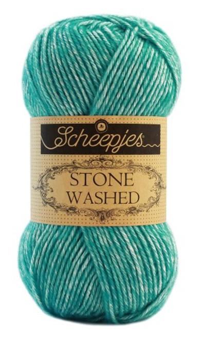 Scheepjes Stone Washed-Turquoise 824