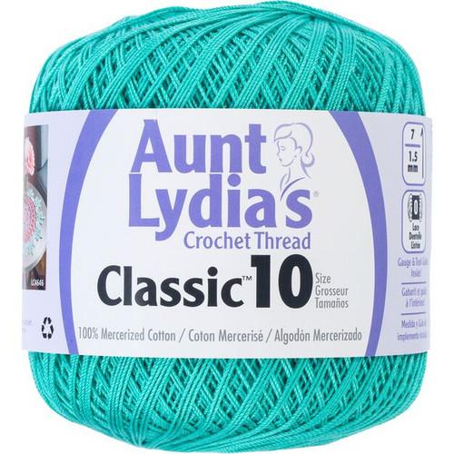Aunt Lydia Crochet Cotton Size 10-Jade