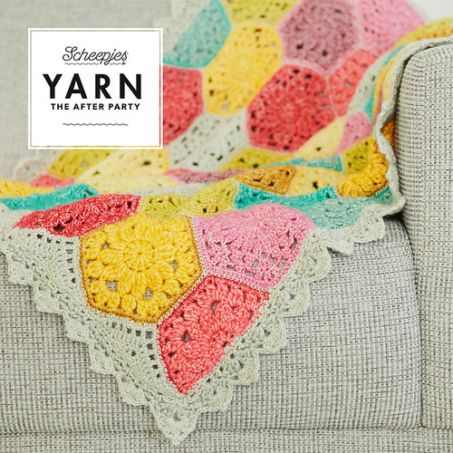 Yarn The After Party 42-Confetti Blanket Kit