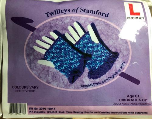 Learn To Crochet-Fingerless Mitts