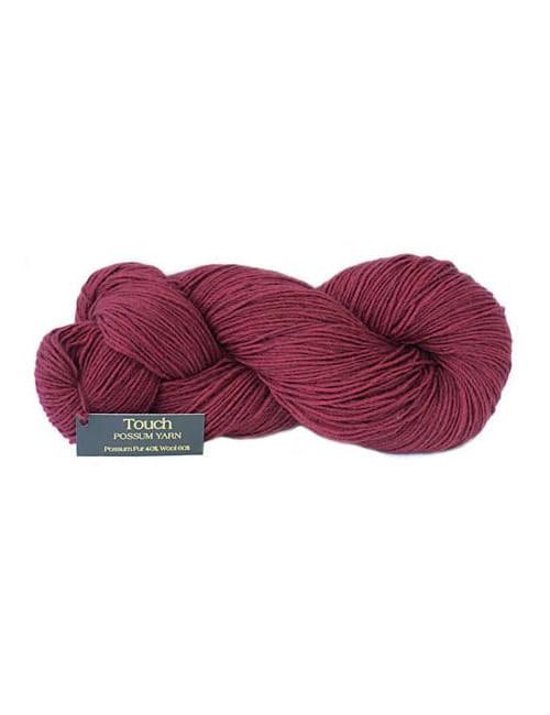 Possum Silk Merino-Cranberry 8 Ply