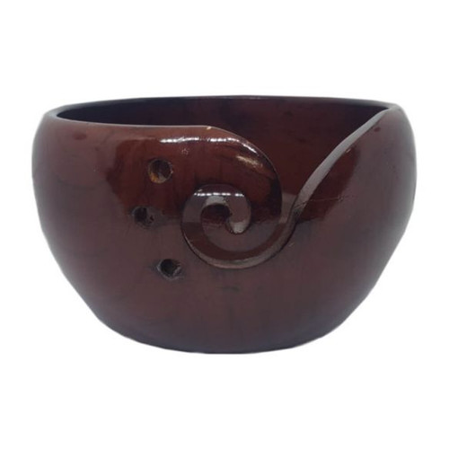 Scheepjes Yarn Bowl-Pinewood Mahogany