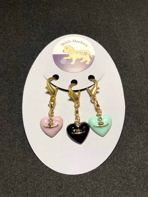 Stitch Markers-Hearts