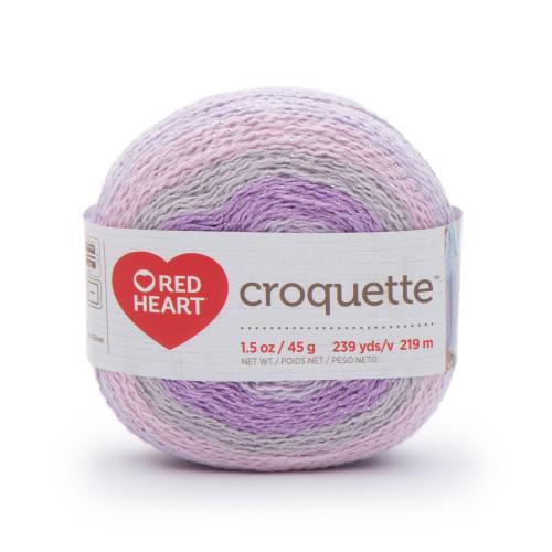Redheart Croquette- Fairy Dust - 9101