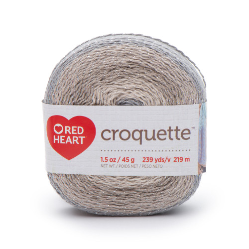 Redheart Croquette- Stonehenge - 9365