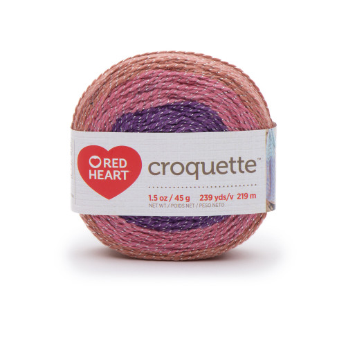 Redheart Croquette- Berry Bliss - 9527