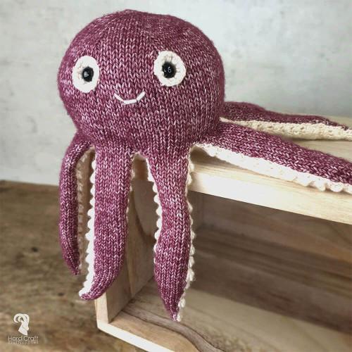 Knitting Amigurumi Kit Olivia Octopus