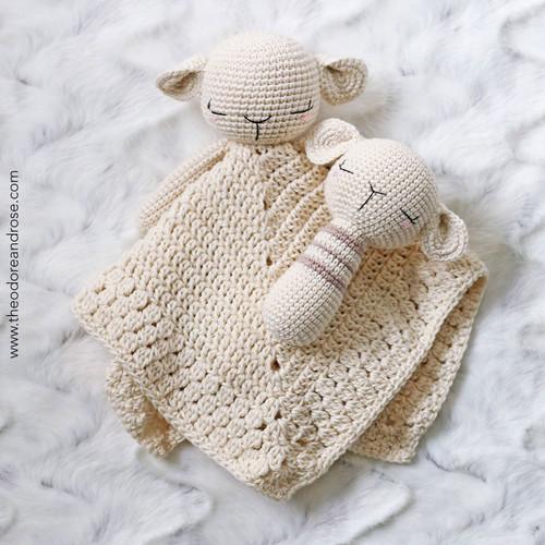 Sleepy Baby Lamb Comforter & Buddy