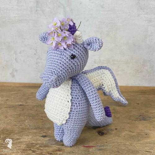 Crochet Amigurumi Kit-Dragon Syl