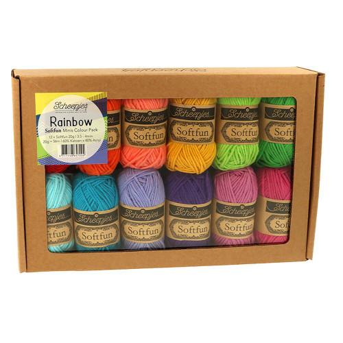 Softfun Colour Pack-Rainbow