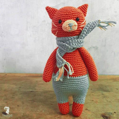Crochet Amigurumi Kit-Pixie Cat