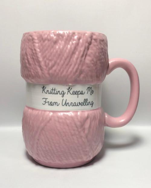 Mug-Knitting Keeps Me From Unravelling