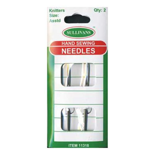 Hand Sewing Needles For Wool & Yarn Metal