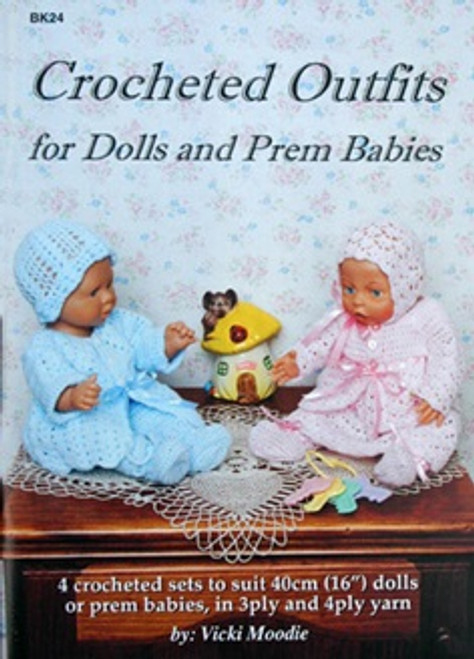 Crochet Outfits for Dolls and Prem Babies