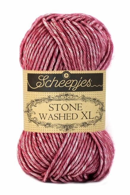 Scheepjes Stone Washed XL-Corundum Ruby 848