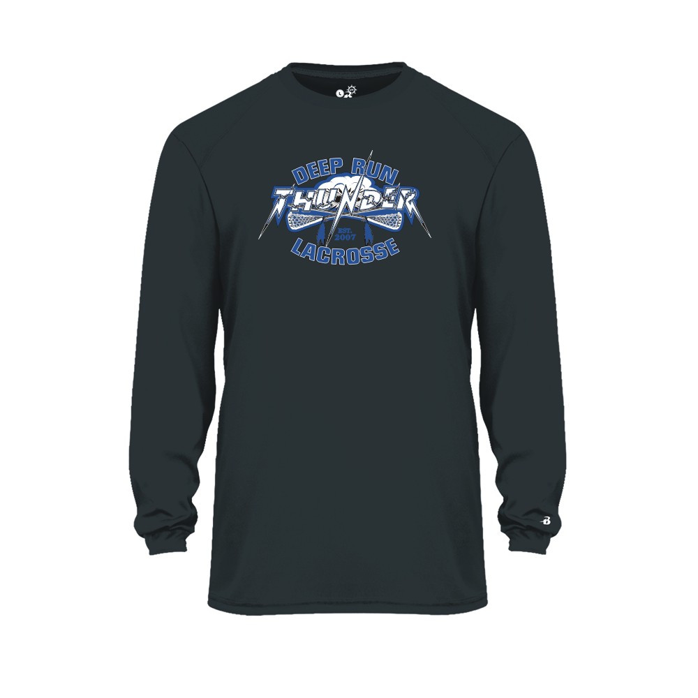 Deep Run Thunder Lacrosse Performance Tees