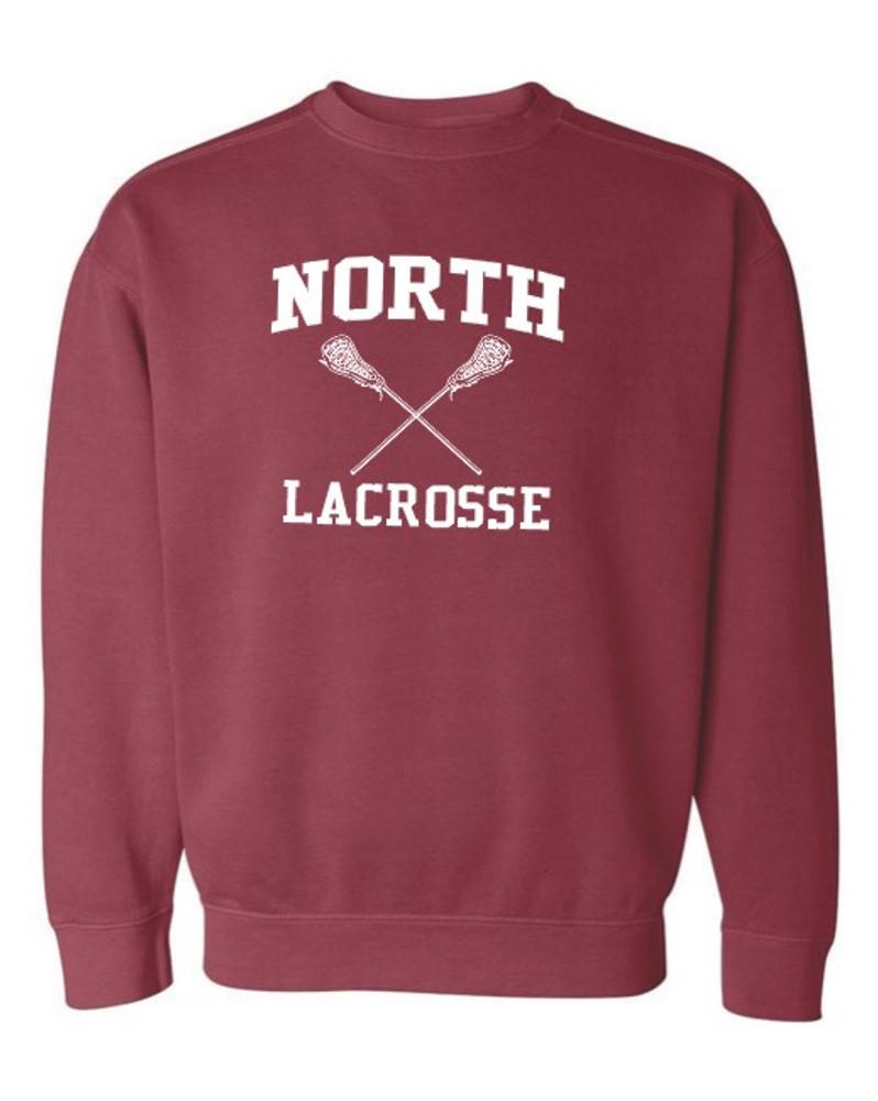North MS Lacrosse Crewneck Sweatshirt