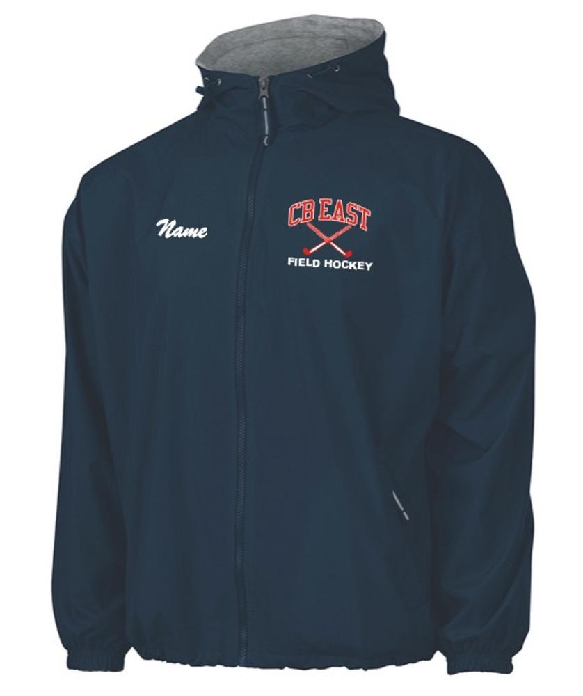 CB East Field Hockey Hooded Full Zip Jacket