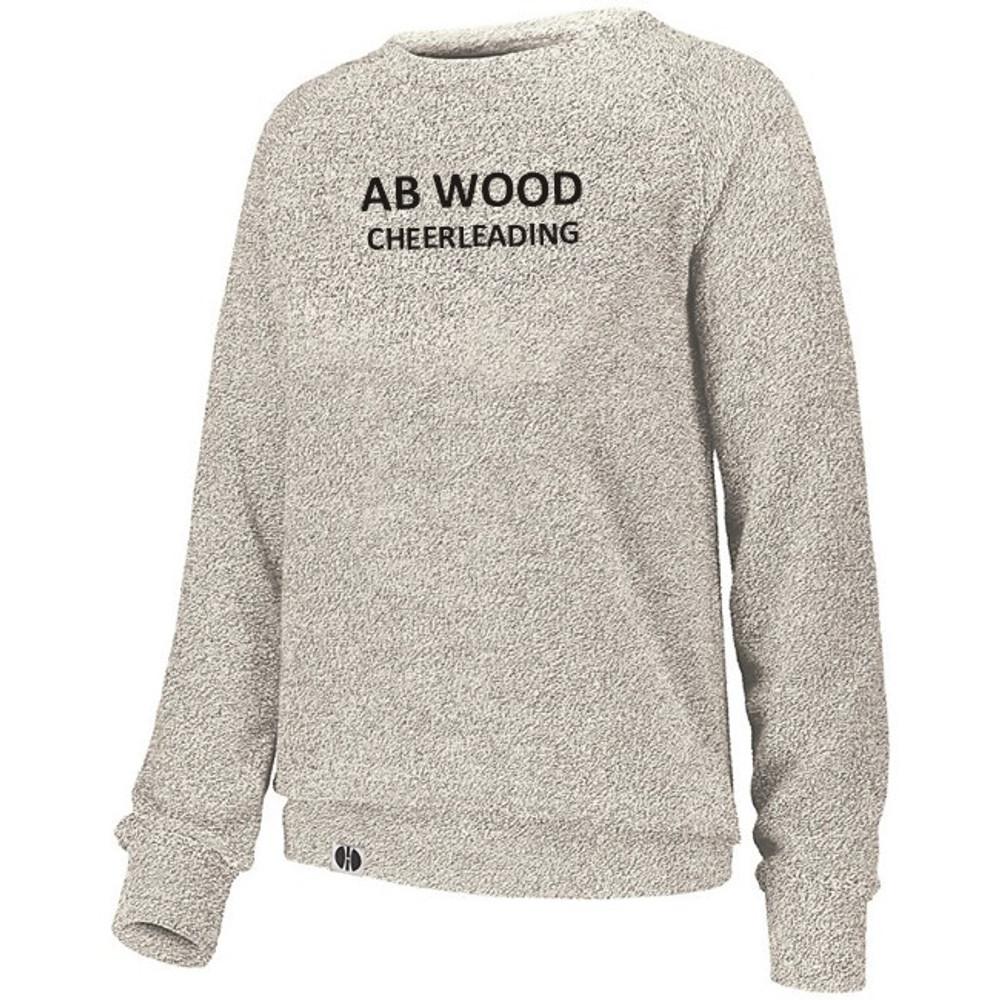 AB Wood Cheerleading French Terry Crew
