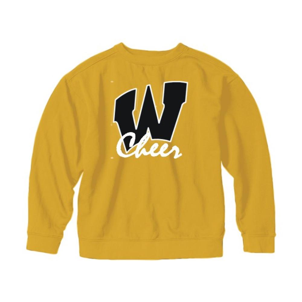 AB Wood Cheerleading Crewneck Sweatshirt