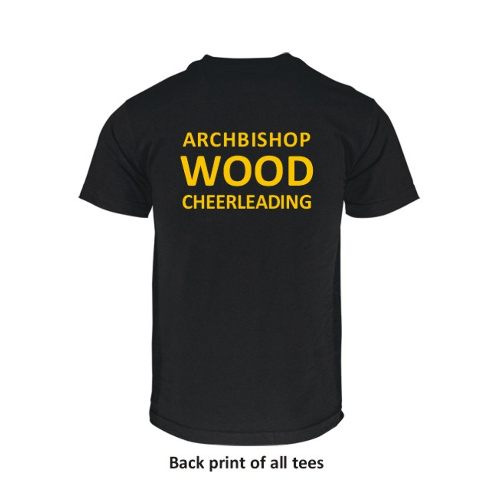 AB Wood Cheerleading Cotton T-Shirts