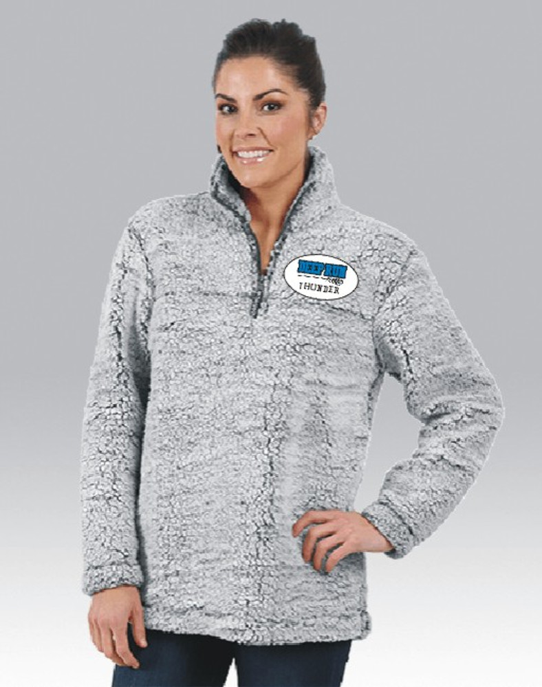 Deep Run Thunder Girls Lacrosse Sherpa Pullover