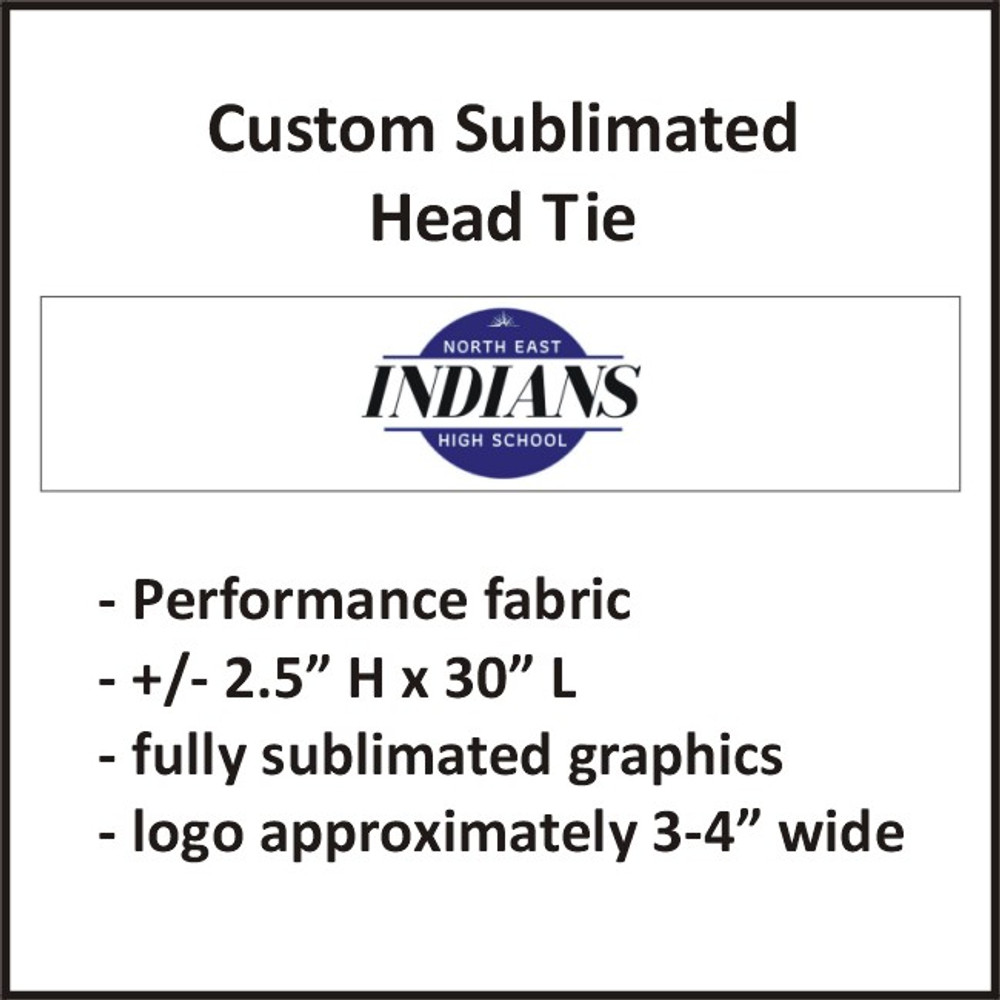 North East FH Sublimated Head Tie