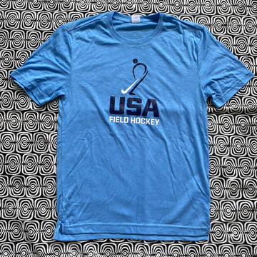 USA Field Hockey 80/20 Performance Tee