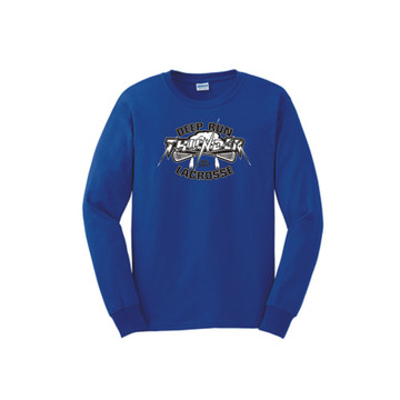 Deep Run Thunder Lacrosse Cotton Tees